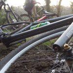 Forest trails biking Cornwall