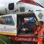 Cornwall Air Ambulance helicopter
