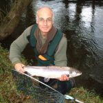 Salmon fishing on the River Camel in Cornwall