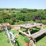 Family garden Cornwall